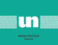 Sistema tipográfico Univers