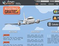 Diseño Web Sanger Express