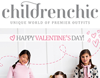 Diseño de Email Blast para Childrenchic NY