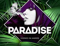 PARADISE - Branding & Flyers