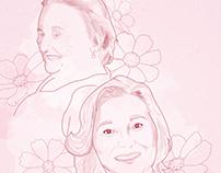 Desenho Digital: Dia das mães