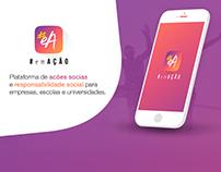 #EmAção - Mobile User Interface