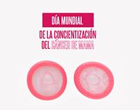Concientización del Cáncer de mama - Condones Mystic