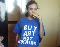 Camisa BUY ART NOT COCAINE