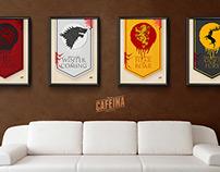 Geek of thrones   Poster design