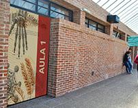 Señalética - Facultad de Ciencias Naturales y Museo