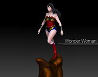 Wonder Woman Zbrush
