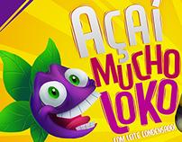 Açaí Mucho Loko - Brand Makeover (Study)