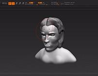 Digital Sculpture - Mad Max Character
