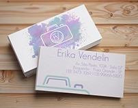 Logotipo e Cartão - Erika Vendelin