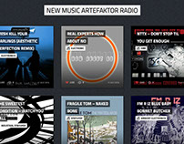 WEB Site - Artefaktorradio.com México