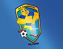 Criação de Emblema - A.E. Canarinho