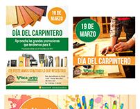"""Campañas de Redes Sociales para """"Placacentro Masisa"""""""