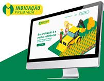 Website - Indicação Premiada