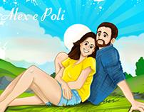 Illustration - couples