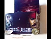 Empaque de piratas del Caribe