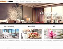 Sitio web para reservaciones de habitaciones