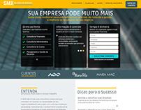 Ajustes Site - SMX Serviços - 2016