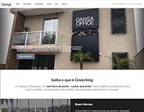 Desenvolvimento web - site Dansa Office Coworking