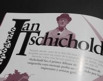 Publicación- Jan Tschichold