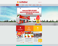 redesign do Website - FarMelhor