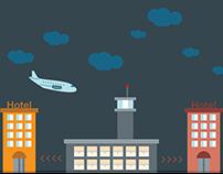 City Airport Illustrations