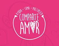 Comparte amor / Brand / social work