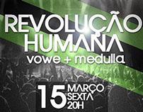 Flyer - Revolução Humana