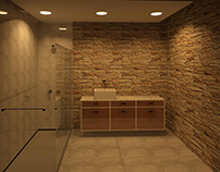 Banheiro 100% #Revit