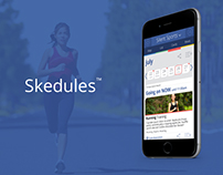 Skedules - Cross-Device App Front-End