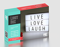 Packaging design for Light Box