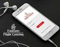 Emirates Flight Catering Proposed Mobile App