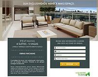 Landing page de empreendimento imobiliário