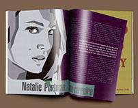 Layout de página de revista