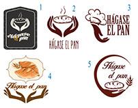 HÁGASE EL PAN  Propuestas logotipos