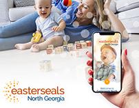 Website ~ Easterseals ~ Web design