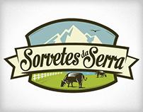 Sorvetes da Serra (Logotipos para aprovação)