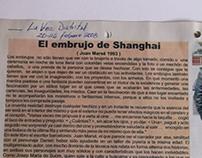 El embrujo de Shanghai. Texto publicado.