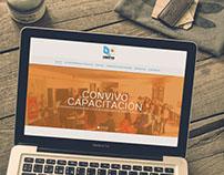Sitio Web Convivo Capacitación