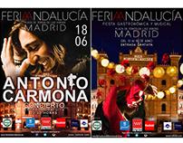 Carteles Oficiales Feria Andalucia Madrid