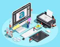 Diseño gráfico para redes sociales