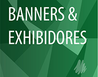 Banners grandes & Exhibidores