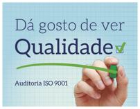 Campanha de Endomarketing | Auditoria ISO 9001
