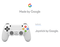 PS4 aesthetic re-design by Google