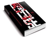 Recriação da capa do livro Psicose