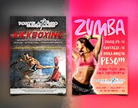 Portela Fisio / Flyer Kickboxing e Zumba