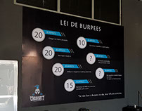 Banner Lei de Burpees