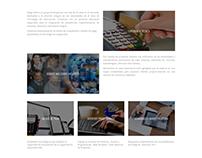 Página Web Megasoft Computación
