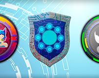 Medallions for games app