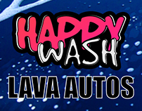 Happywash (Carwash sign)